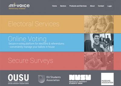 Mi-Voice Website